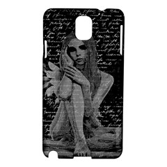 Angel Samsung Galaxy Note 3 N9005 Hardshell Case by Valentinaart