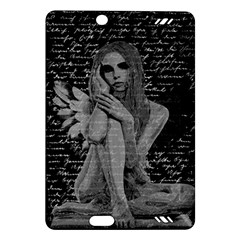Angel Amazon Kindle Fire Hd (2013) Hardshell Case by Valentinaart