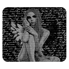 Angel Double Sided Flano Blanket (small)  by Valentinaart