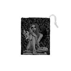 Angel Drawstring Pouches (xs)  by Valentinaart
