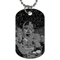 Angel  Dog Tag (two Sides) by Valentinaart