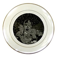 Angel  Porcelain Plates by Valentinaart