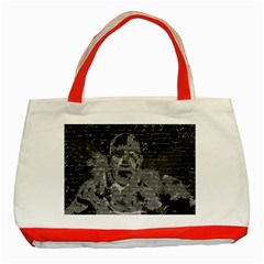 Angel  Classic Tote Bag (red) by Valentinaart