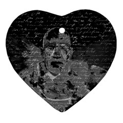 Angel  Heart Ornament (two Sides) by Valentinaart