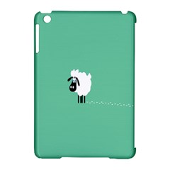 Sheep Trails Curly Minimalism Apple Ipad Mini Hardshell Case (compatible With Smart Cover) by Simbadda