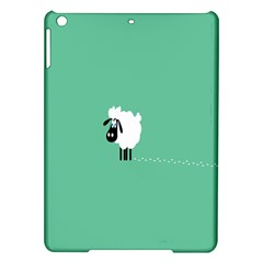 Sheep Trails Curly Minimalism Ipad Air Hardshell Cases by Simbadda