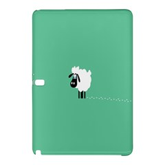 Sheep Trails Curly Minimalism Samsung Galaxy Tab Pro 12 2 Hardshell Case by Simbadda