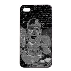 Angel  Apple Iphone 4/4s Seamless Case (black) by Valentinaart