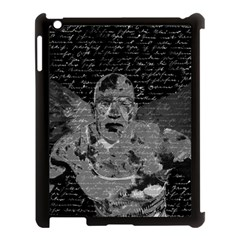Angel  Apple Ipad 3/4 Case (black) by Valentinaart