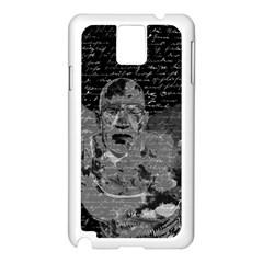 Angel  Samsung Galaxy Note 3 N9005 Case (white) by Valentinaart