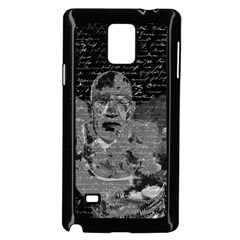 Angel  Samsung Galaxy Note 4 Case (black) by Valentinaart
