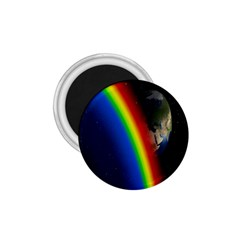 Rainbow Earth Outer Space Fantasy Carmen Image 1 75  Magnets by Simbadda
