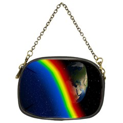 Rainbow Earth Outer Space Fantasy Carmen Image Chain Purses (one Side)  by Simbadda