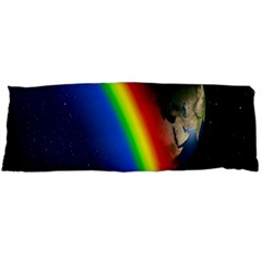 Rainbow Earth Outer Space Fantasy Carmen Image Body Pillow Case (dakimakura) by Simbadda