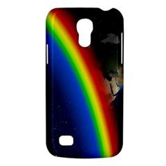 Rainbow Earth Outer Space Fantasy Carmen Image Galaxy S4 Mini by Simbadda