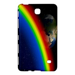 Rainbow Earth Outer Space Fantasy Carmen Image Samsung Galaxy Tab 4 (7 ) Hardshell Case  by Simbadda