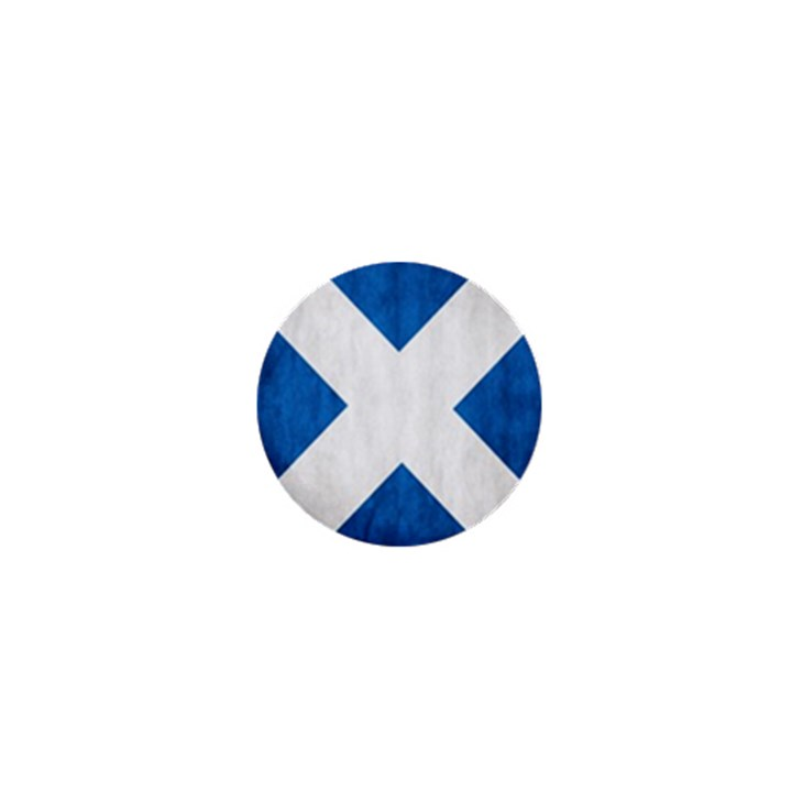 Scotland Flag Surface Texture Color Symbolism 1  Mini Buttons