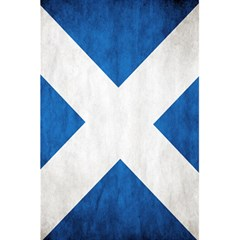 Scotland Flag Surface Texture Color Symbolism 5 5  X 8 5  Notebooks by Simbadda
