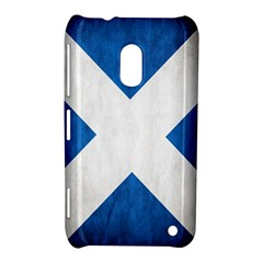 Scotland Flag Surface Texture Color Symbolism Nokia Lumia 620 by Simbadda