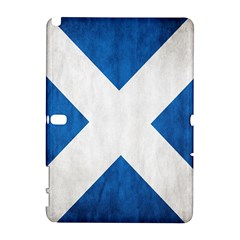 Scotland Flag Surface Texture Color Symbolism Galaxy Note 1 by Simbadda