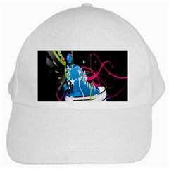 Sneakers Shoes Patterns Bright White Cap by Simbadda