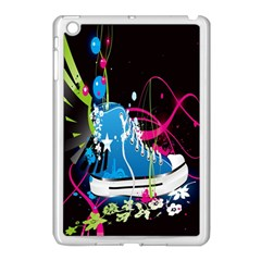Sneakers Shoes Patterns Bright Apple Ipad Mini Case (white) by Simbadda