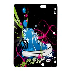 Sneakers Shoes Patterns Bright Kindle Fire Hdx 8 9  Hardshell Case by Simbadda