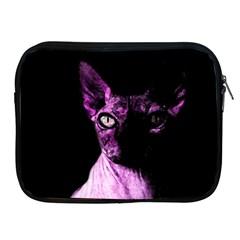 Pink Sphynx Cat Apple Ipad 2/3/4 Zipper Cases by Valentinaart