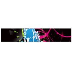 Sneakers Shoes Patterns Bright Flano Scarf (large) by Simbadda