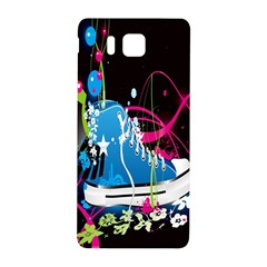 Sneakers Shoes Patterns Bright Samsung Galaxy Alpha Hardshell Back Case by Simbadda