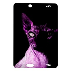 Pink Sphynx Cat Amazon Kindle Fire Hd (2013) Hardshell Case by Valentinaart