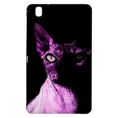 Pink Sphynx Cat Samsung Galaxy Tab Pro 8 4 Hardshell Case by Valentinaart