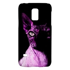 Pink Sphynx Cat Galaxy S5 Mini by Valentinaart