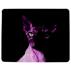 Pink Sphynx Cat Jigsaw Puzzle Photo Stand (rectangular) by Valentinaart