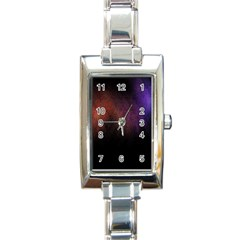 Point Light Luster Surface Rectangle Italian Charm Watch by Simbadda