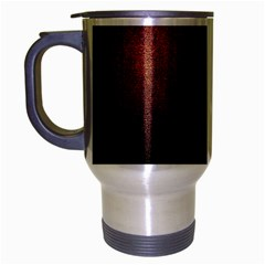 Point Light Luster Surface Travel Mug (silver Gray) by Simbadda