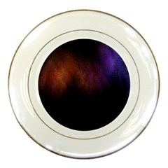 Point Light Luster Surface Porcelain Plates by Simbadda
