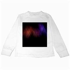 Point Light Luster Surface Kids Long Sleeve T Shirts by Simbadda