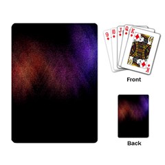 Point Light Luster Surface Playing Card by Simbadda