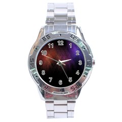 Point Light Luster Surface Stainless Steel Analogue Watch by Simbadda