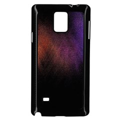 Point Light Luster Surface Samsung Galaxy Note 4 Case (black)