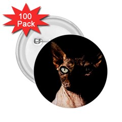 Sphynx Cat 2 25  Buttons (100 Pack)  by Valentinaart