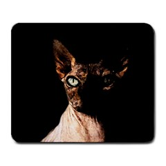 Sphynx Cat Large Mousepads by Valentinaart