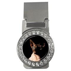 Sphynx Cat Money Clips (cz)  by Valentinaart