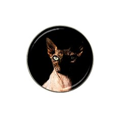 Sphynx Cat Hat Clip Ball Marker by Valentinaart