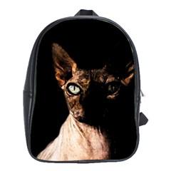Sphynx Cat School Bags(large)  by Valentinaart