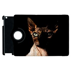 Sphynx Cat Apple Ipad 2 Flip 360 Case by Valentinaart