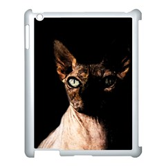 Sphynx Cat Apple Ipad 3/4 Case (white) by Valentinaart