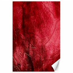 Red Background Texture Canvas 20  X 30   by Simbadda