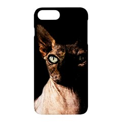 Sphynx Cat Apple Iphone 7 Plus Hardshell Case by Valentinaart
